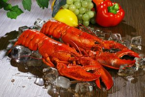 Lobsters for Seafood Bisque
