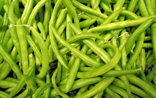 Chili Mint Green Beans with Cucumbers